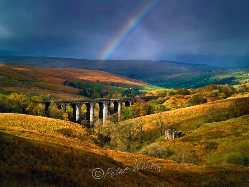 Dent Dale Viaduct Yorkshire - England