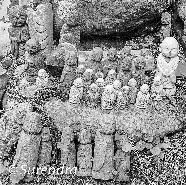 Nashinoki Jizo 7 - Jizo on Sado Island