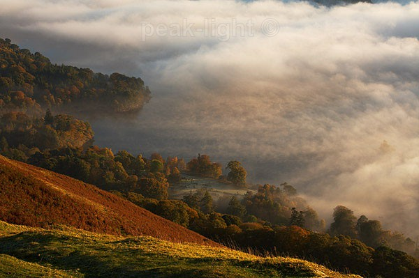 Mist on Derwentwater - The Lakes