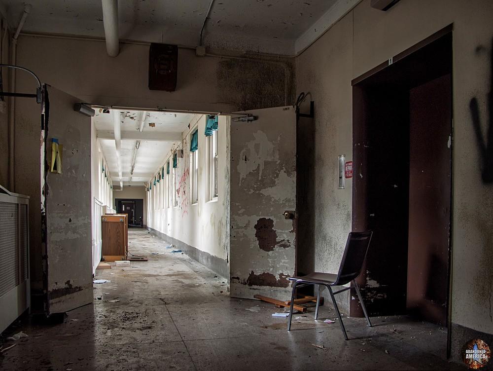 Overbrook Asylum (Cedar Grove, NJ) | Surveying the Walkway - The Essex County Hospital Center