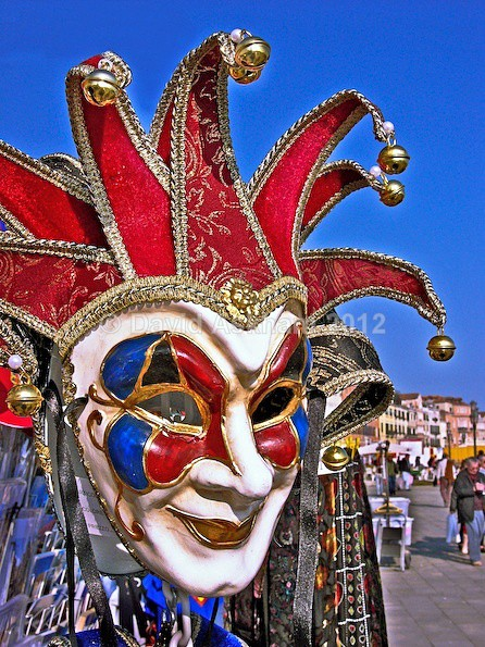 Venetian mask - Leica Photography