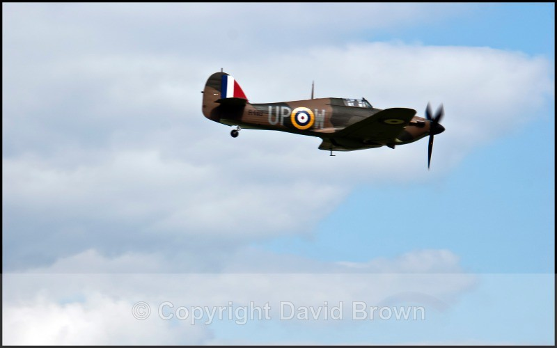 NM Air Pageant Hawker Hurricane 45 - North Moreton Air Pageant