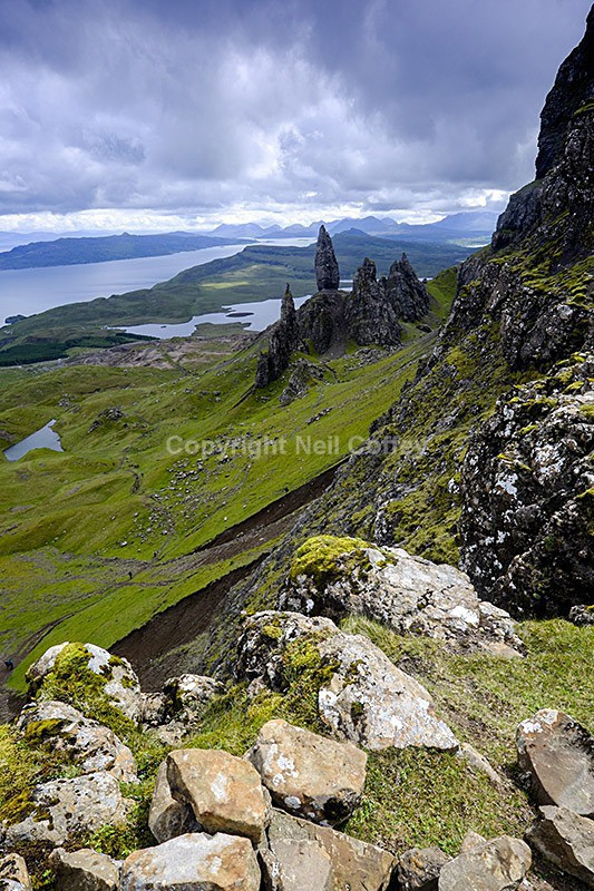 The Old Man of Storr, Isle of Skye2 - Portrait format