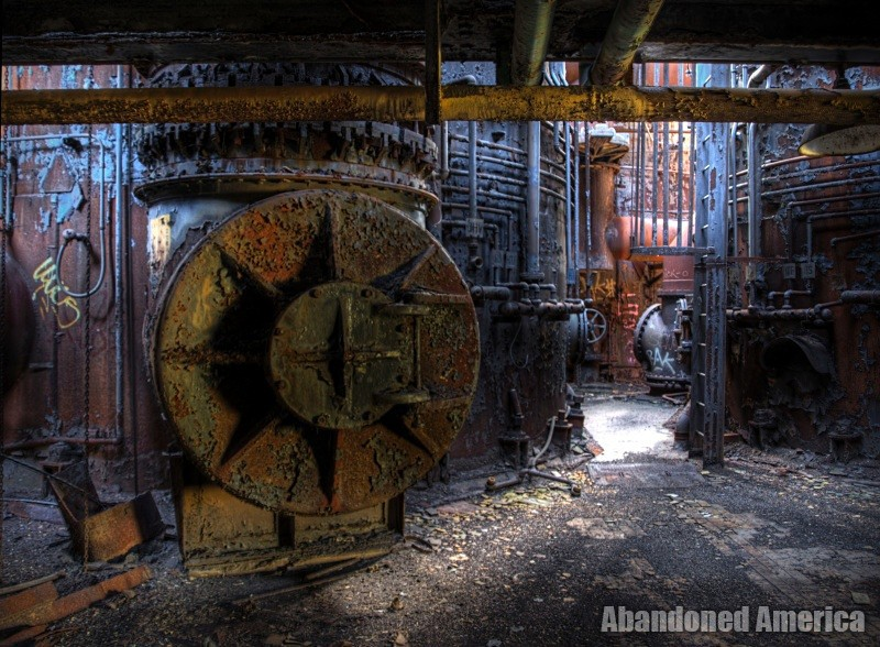 Carrie Furnaces (Rankin, PA) | Shadowed - Carrie Furnaces