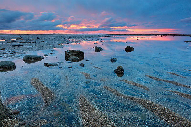 Sand patterns, Druridge Bay, Northumberland      ref 0076 - Northumberland