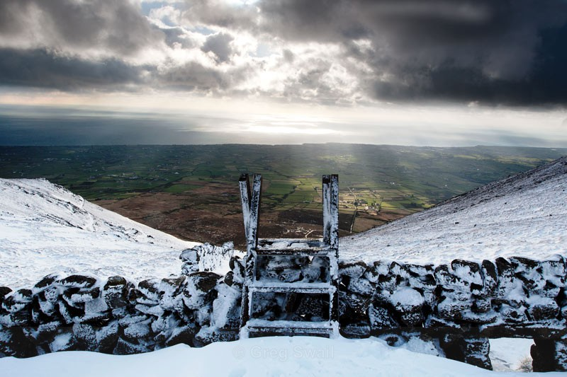 Mourne Stile - The Mourne Mountains (Winter)