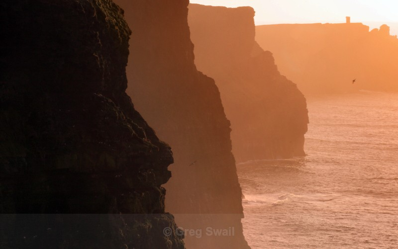Moher Cliffs - Landscapes of Ireland - County Donegal and the Wild Atlantic Way