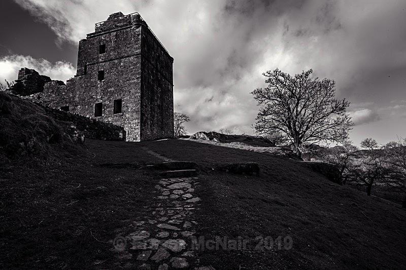 Carnassarie Castle 0848 B&W - Black & White