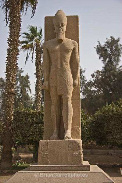 Statue of Ramses 2 - Egypt Nile Tour 08