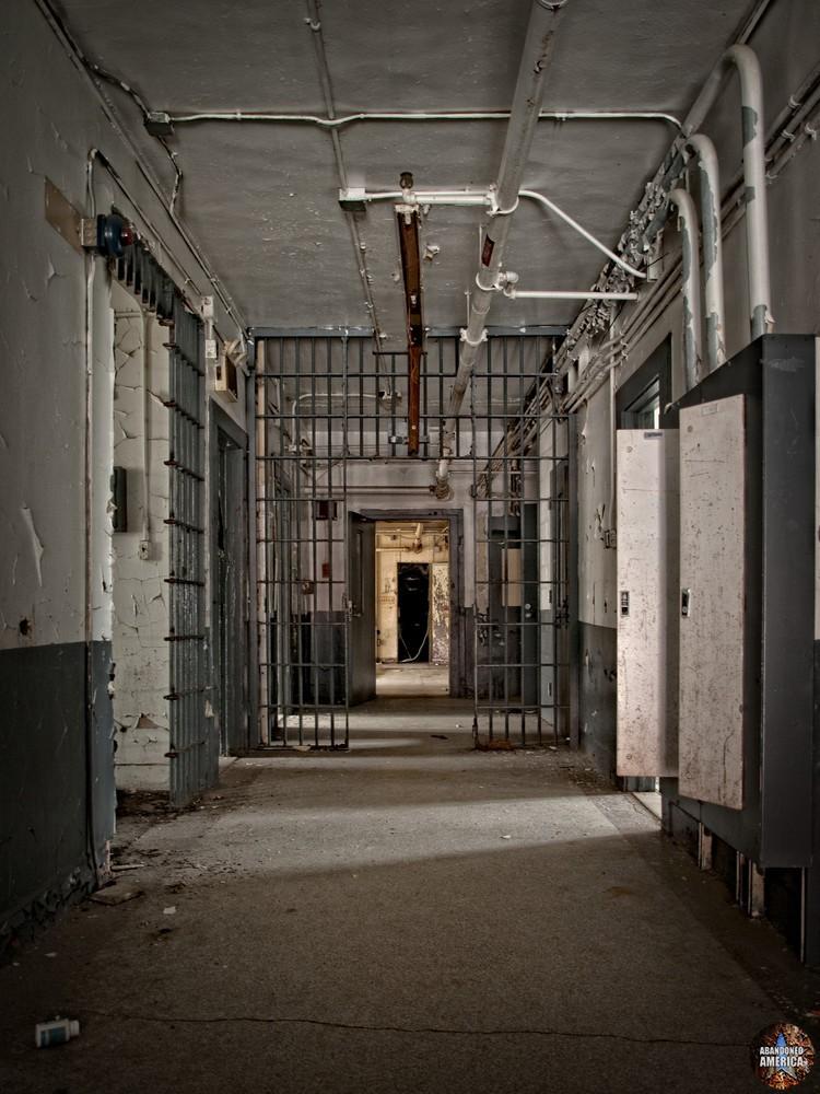 Essex County Jail Annex (Caldwell, NJ) | Infirmary Building Entry - Essex County Jail Annex