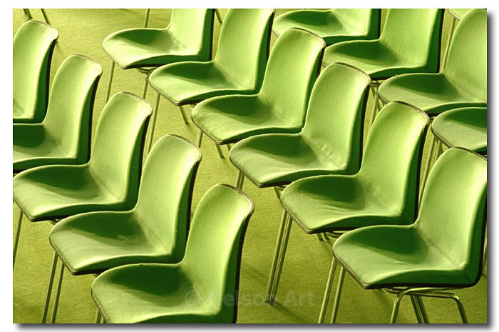 Green Chairs - Objects
