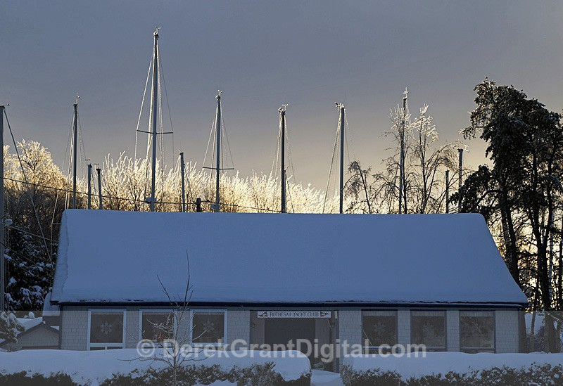 Icy Masts - The Great Ice Storm of 2013