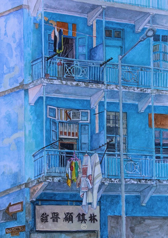 Blue House, Hong Kong. - New Works