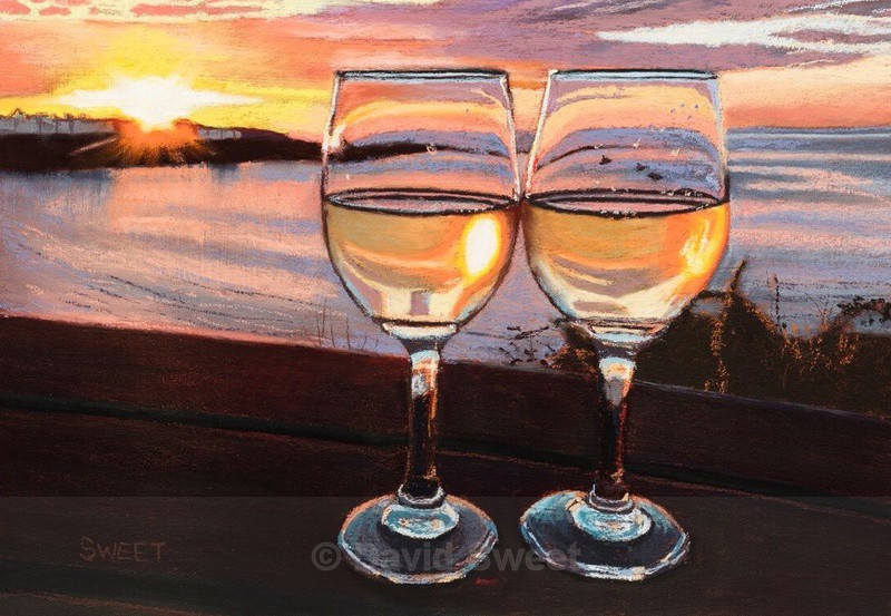 Bayview Sunset - Paintings
