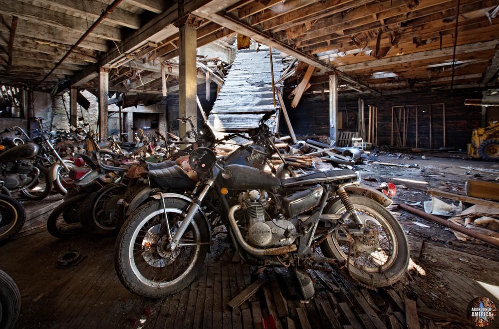 Kohl's Motorcycle Salvage (Lockport NY) | Abandoned America