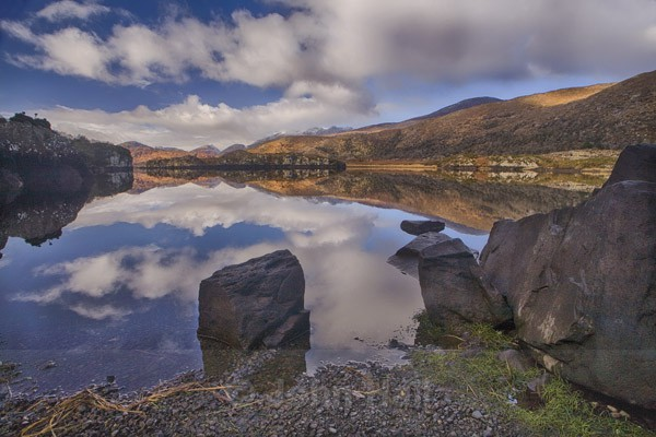 Morning Reflections, Lakes Of Killarney, Co. Kerry, Ireland.