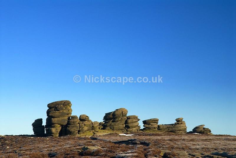 Wheel Stones on Derwent Edge - Peak District, UK - Peak District Landscape Photography Gallery