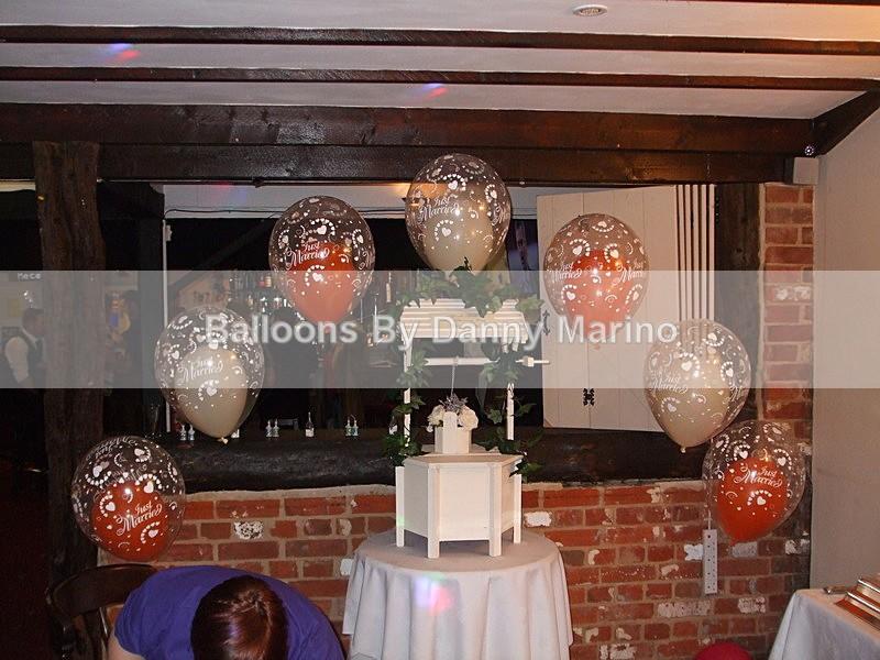 double bubble arch - Wedding Balloon Photos