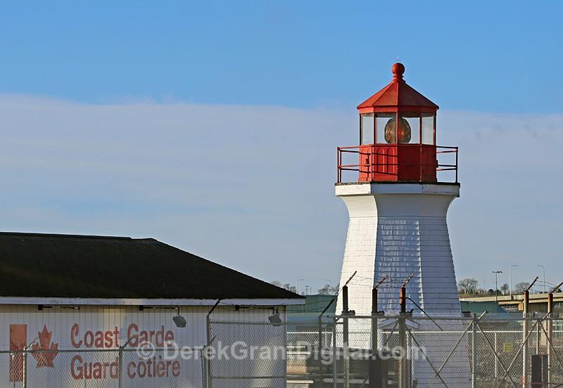 Saint John Coast Guard Base Lighthouse - Lighthouses of New Brunswick