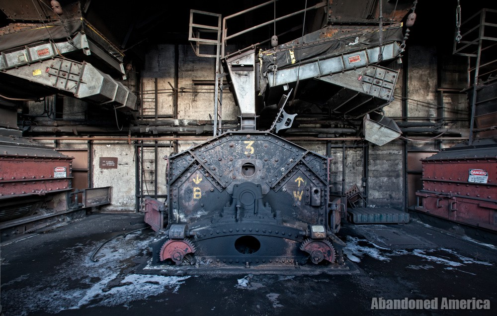 Bethlehem Steel, Lackawanna NY - Photographs by Matthew Christopher Murray of Abandoned America