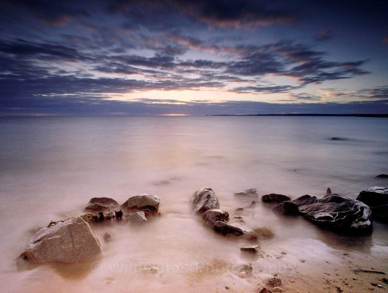 Dinas Dinile Sunset  NIKON D800 20mm f11 30 iso80 - Landscapes
