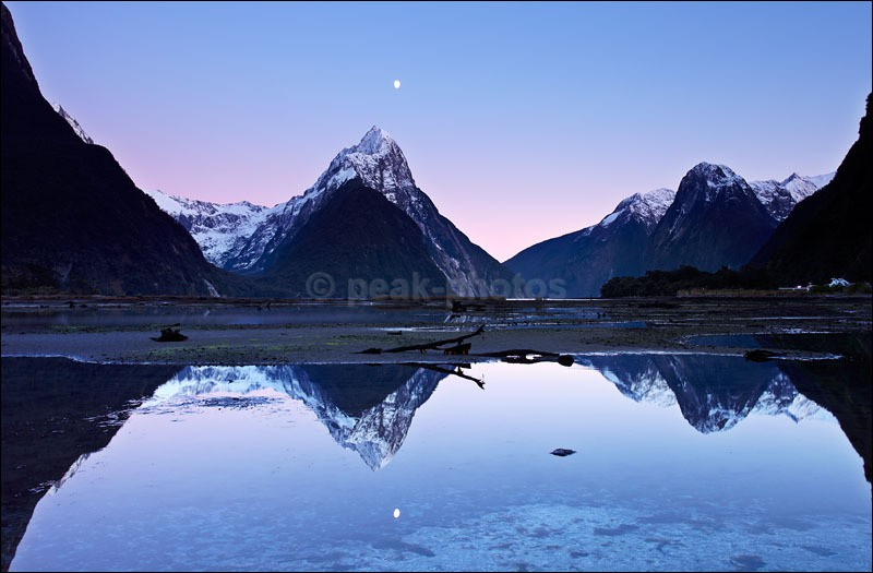 Milford Sound Moonscape - Photographs of New Zealand