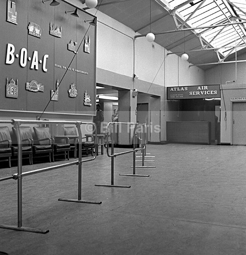 B.O.A.C The Departure Lounge Prestwick - Archive.