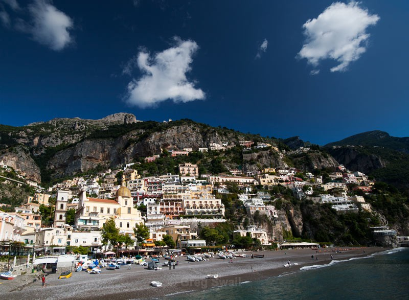 Positano - Sardinia and the Amalfi Coast