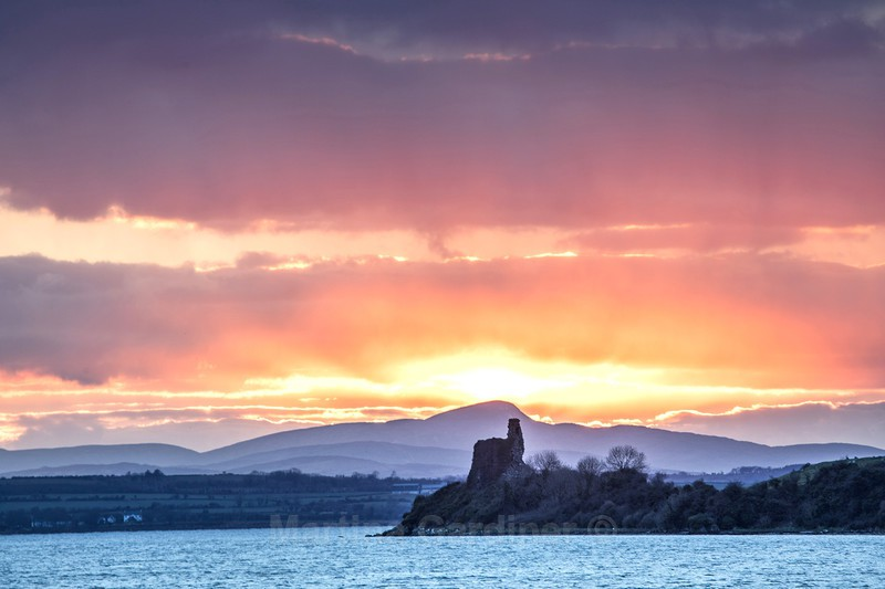 Inch Castle Sunset (17th March 2018) - Ireland by Day