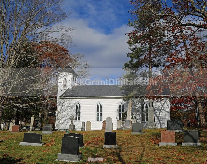 Church of the Ascension - 1 Hampton, New Brunswick, Canada - Churches of New Brunswick
