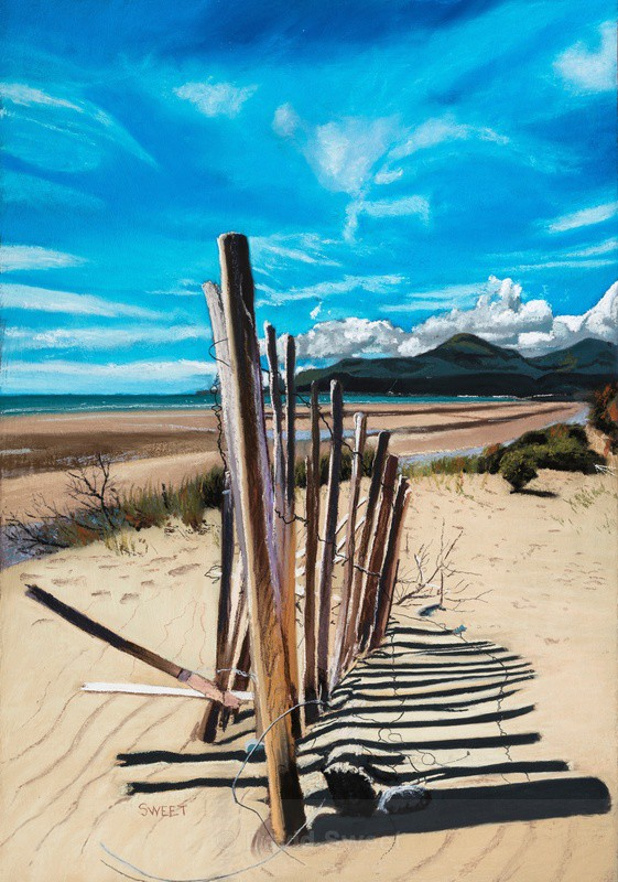 Mournes from Murlough - Paintings