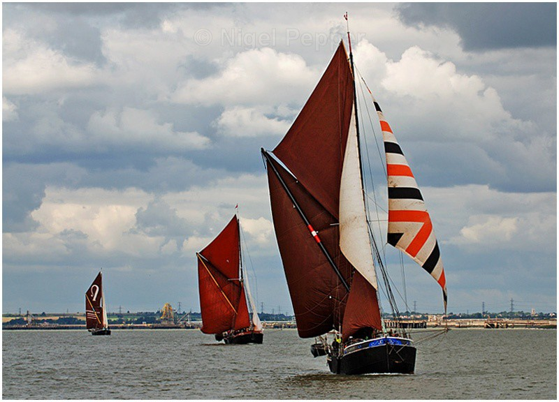 Racing Trio (2) - The Thames Barge Match
