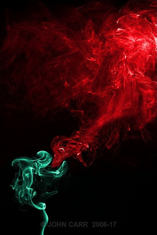Green (Jade) Dragon Flame - SMOKE ART( The Alien invasion) PHOTOS