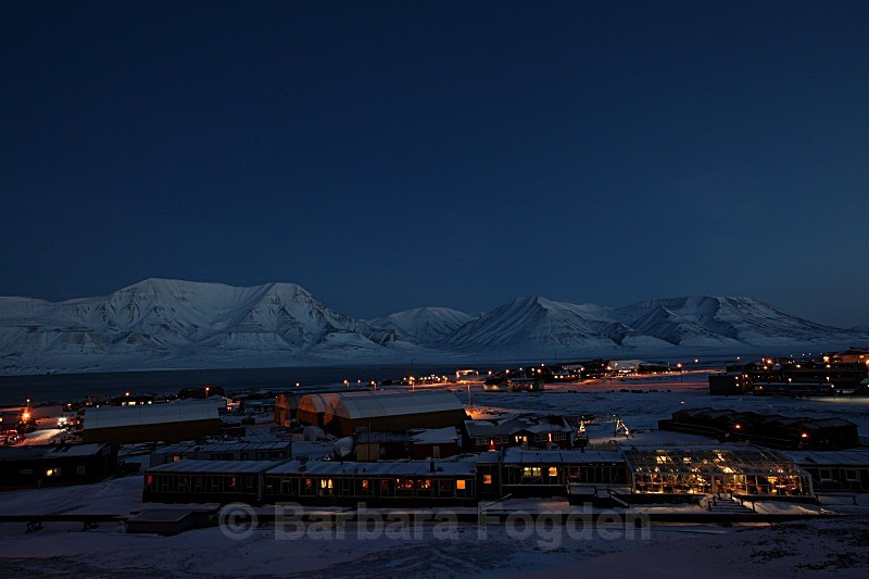 Longyearbyen 4947 - Polar night