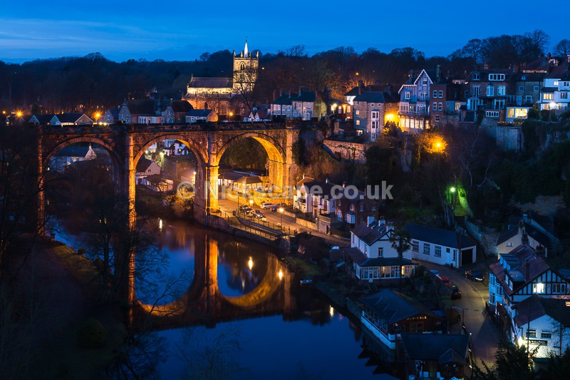 Knaresborough Viaduct & River Nidd at Night | Yorkshire | Nickscape