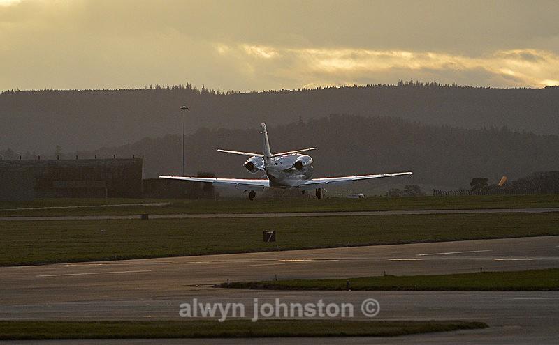 CESSNA 560XL CITATION 2 - RAF LOSSIEMOUTH VISIT NOV 2017