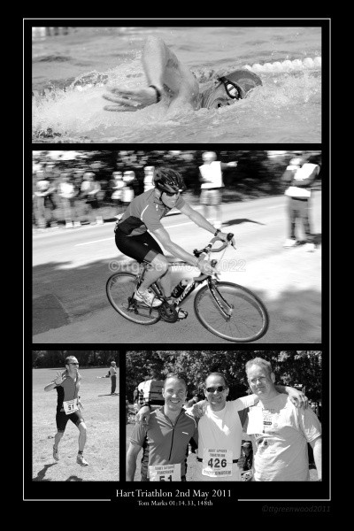 2011 8x12 Marks Collage v2 - Hart Triathlon