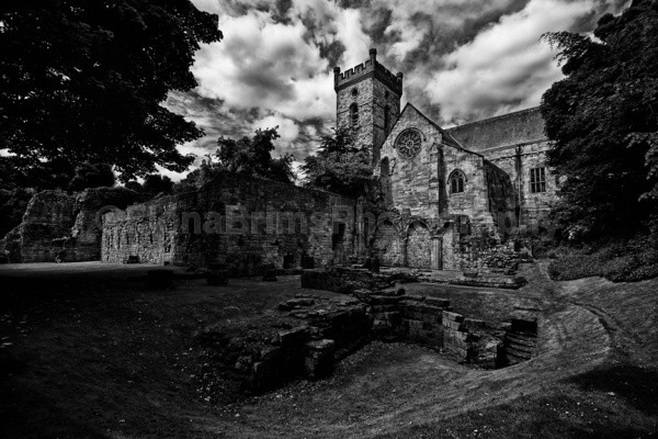 Culross abbey - Architecture