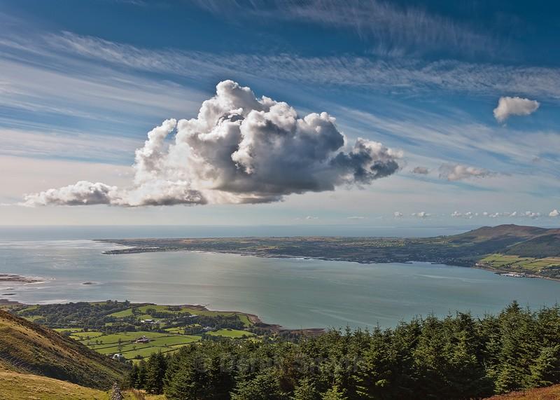 Passing Cloud - Carlingford Lough