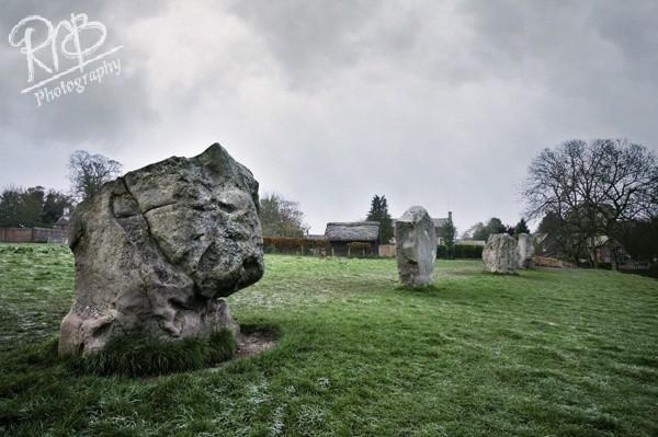 Cold Avebury Morning 1 - Avebury