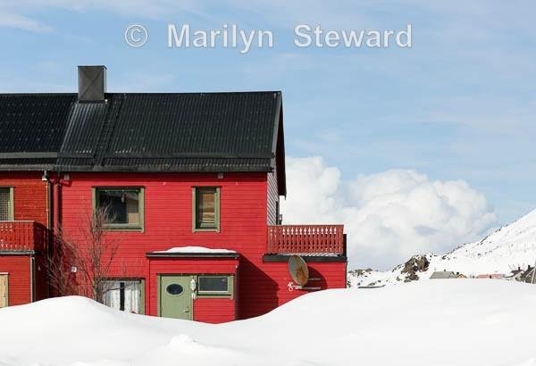 Red house, Honningsvåg - Norway Coast