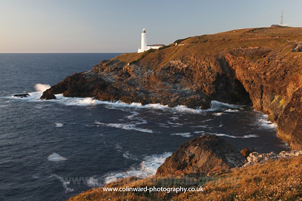 Trevose Lighthouse.    ref 8710 - Cornwall