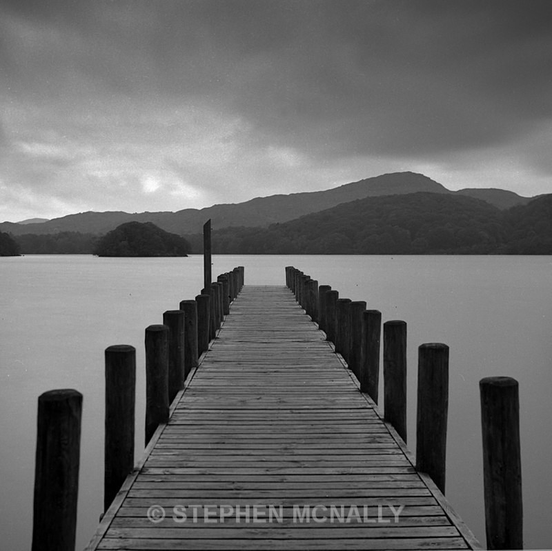 Coniston Jetty English Lake District - Images made on Film
