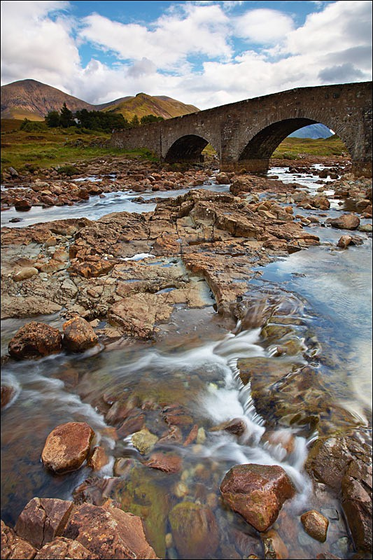 Sligachan Bridge - Photographs of Scotland
