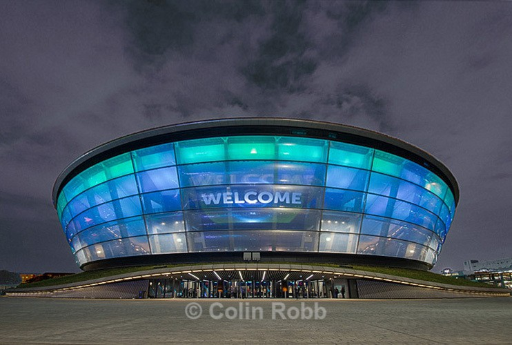 Glasgow |  SSE Hydro | photograph by Colin Robb