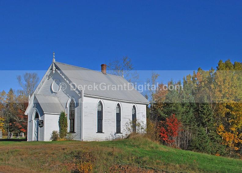 Bethel United Baptist Church - Kars, New Brunswick Canada - Churches of New Brunswick