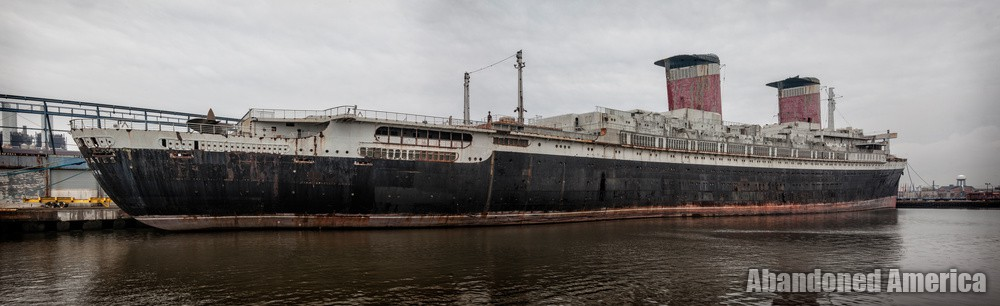 Rear View | SS United States (Philadelphia, PA) - SS United States