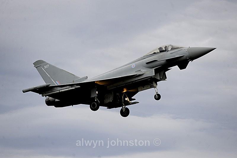 TYPHOON 17 - RAF LOSSIEMOUTH VISIT NOV 2017