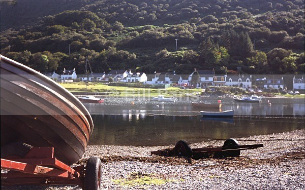 Lochranza Arran no 1 - Land and Sea