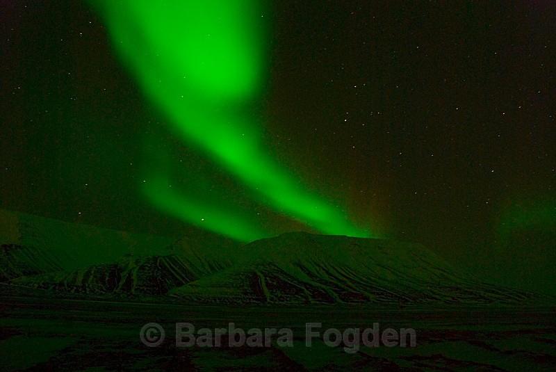 Northern Light in Adventdalen 0040 - Polar night